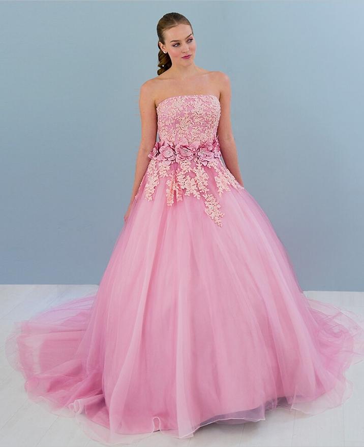 Lujoso Vestido De Novia Bordado Mexicano Ornamento - Colección de ...