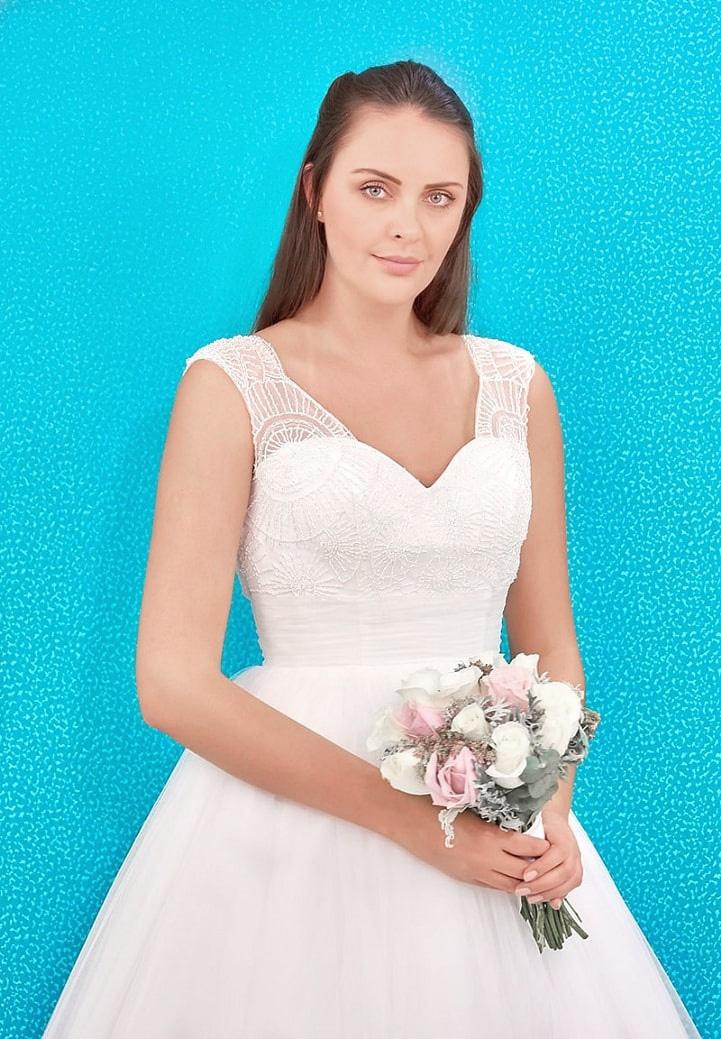 Vestido de Novia Elena Reynoso - leonor - Elena Reynoso